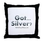 Got Silver 01 Throw Pillow