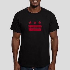 DC Flag: True Grit Men's Fitted T-Shirt (dark)