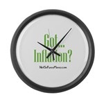 Got Inflation Large Wall Clock