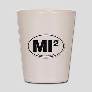 Mackinac Island Euro Design Shot Glass