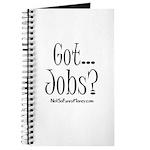 Got Jobs 01 Journal