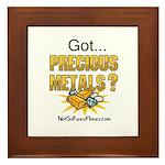 Got Precious Metals 01 Framed Tile