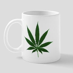 Simple Marijuana Leaf Mug