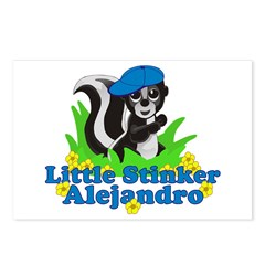 Little Stinker Alejandro Postcards (Package of 8)