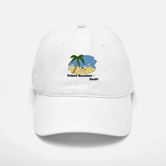 Naked Beaches - Yeah! Baseball Baseball Cap
