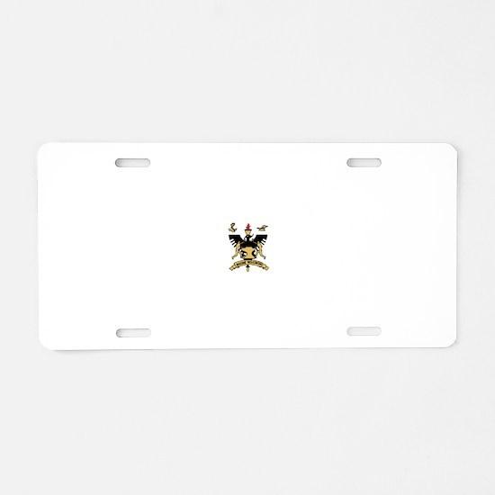 Racine, Wisconsin Aluminum License Plate