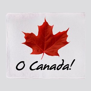 O Canada Throw Blanket