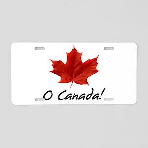 O Canada Aluminum License Plate