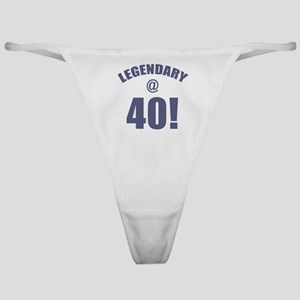 Legendary At 40 Classic Thong