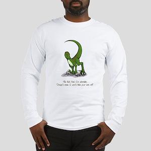 Adorable Velociraptor Long Sleeve T-Shirt