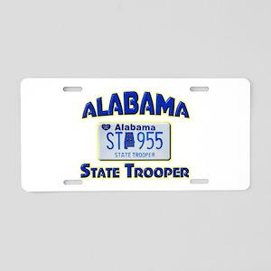 Alabama State Trooper Aluminum License Plate