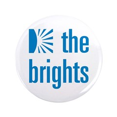 """Square Logo 3.5"""" Button (100 pack)"""