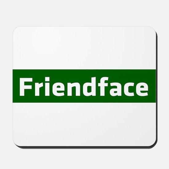IT Crowd - Friendface Mousepad