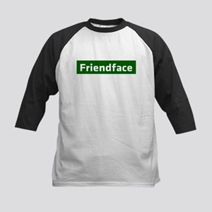 IT Crowd - Friendface Kids Baseball Jersey