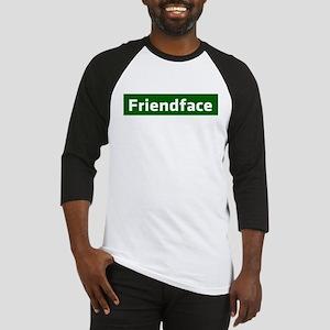 IT Crowd - Friendface Baseball Jersey