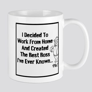 I Decided To Work From Home A Mug