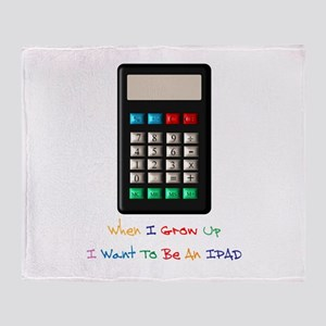 IPAD-Humour Throw Blanket