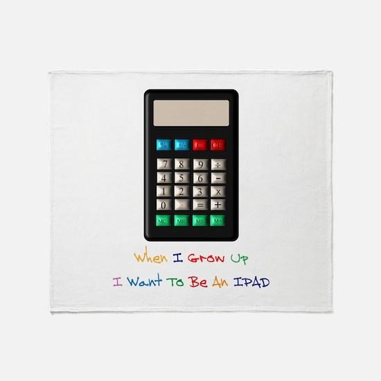 IPAD-Humour Throw Blanket