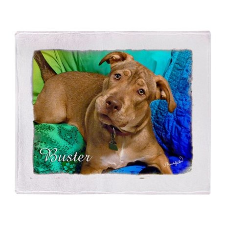Buster Throw Blanket