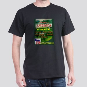 EVERYTHING IS FREE Dark T-Shirt
