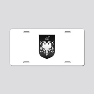 Albanian State Emblem Aluminum License Plate