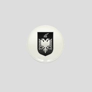 Albanian State Emblem Mini Button