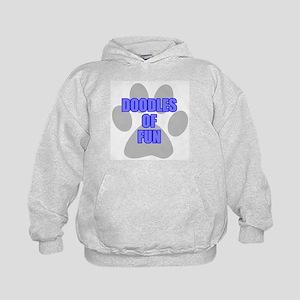 Fun Labradoodle Kids Hoodie