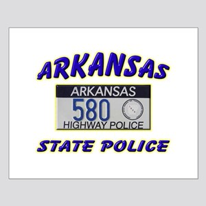 Arkansas State Police Small Poster