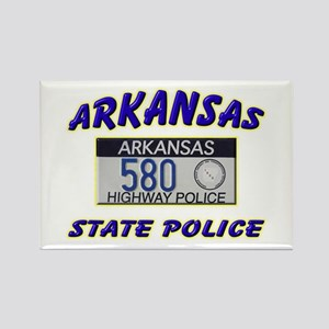 Arkansas State Police Rectangle Magnet