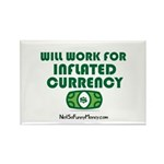Will Work Inflation Rectangle Magnet (100 pack)
