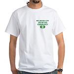 Will Work Inflation White T-Shirt
