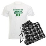 Will Work Inflation Men's Light Pajamas