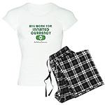 Will Work Inflation Women's Light Pajamas