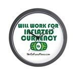 Will Work Inflation Wall Clock