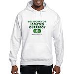 Will Work Inflation Hooded Sweatshirt