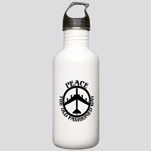 B-52 Peace the Old Fashioned Way Stainless Water B