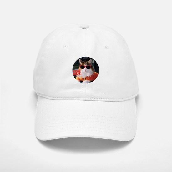 Hot Kitty Baseball Baseball Cap