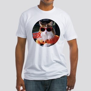 Hot Kitty Fitted T-Shirt