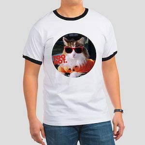 Hot Kitty Ringer T