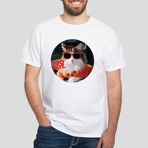 Hot Kitty White T-Shirt