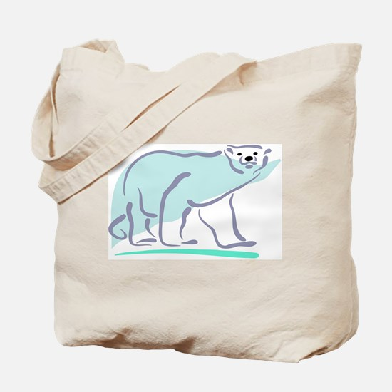 Polar Bear100 Tote Bag