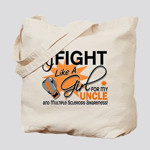 Fight Like A Girl For My MS Tote Bag