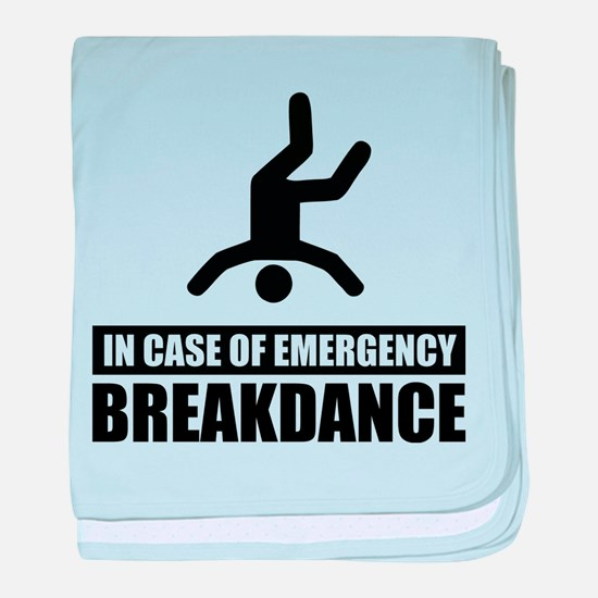 In case of emergency breakdan baby blanket