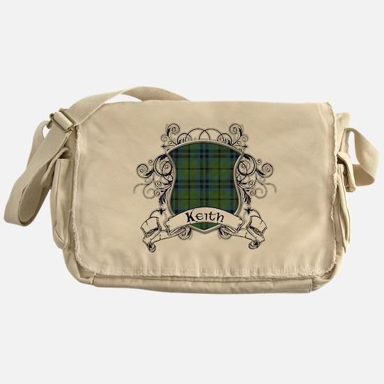 Keith Tartan Shield Messenger Bag