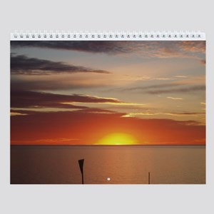 elph Hallett cove,S.A. sunset Wall Calendar