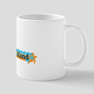 Fenwick Island DE - Beach Design Mug