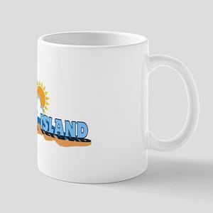 Fenwick Island DE - Waves Design Mug
