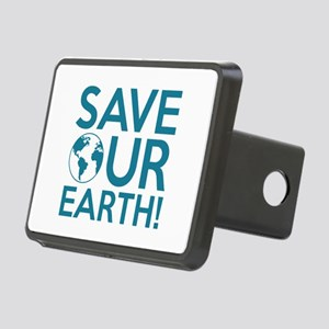 Save Our Earth Rectangular Hitch Cover