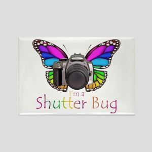 Shutter Bug Rectangle Magnet