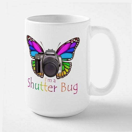 Shutter Bug Large Mug